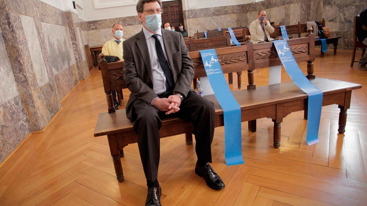 Juan Carlos Quer, en la vista de apelación del caso Diana Quer