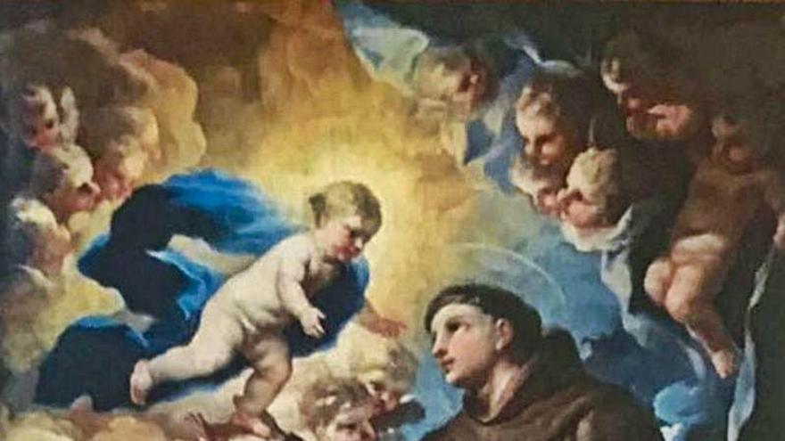 Un anticuario ofrece a Xàtiva un cuadro de Luca Giordano para que continúe en la ciudad