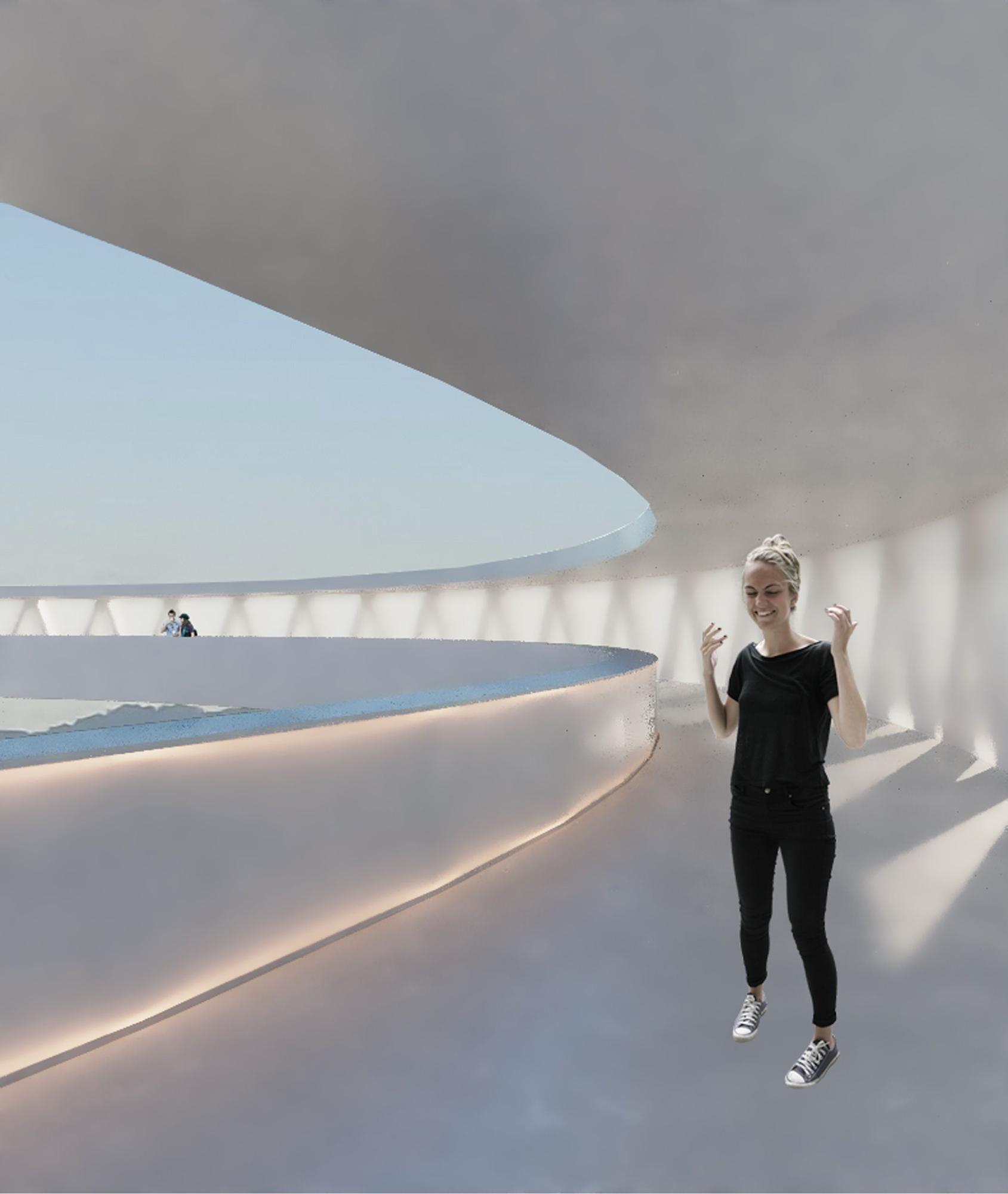 """Proyecto """"HALO"""" del ascensor que conectará García Barbón con Vialia y Vía Norte"""