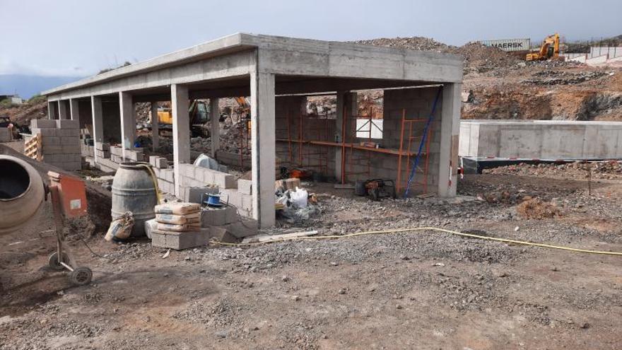 Las obras de la  depuradora de La Campana están a un 75% de su ejecución