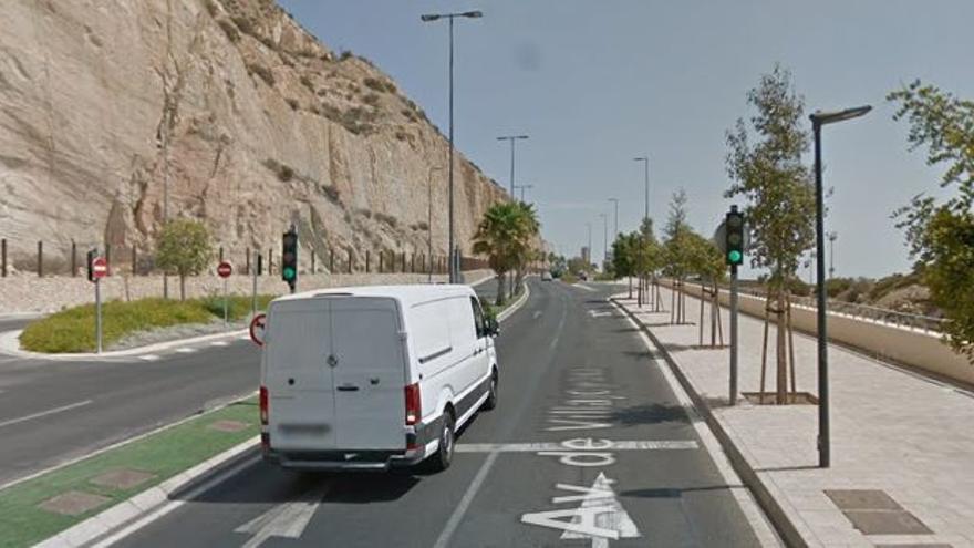 El Ayuntamiento de Alicante corta la avenida de Villajoyosa los domingos por la mañana