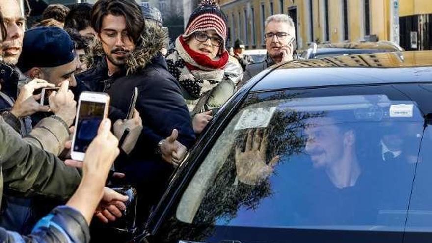 Locura en Milán con la llegada de Zlatan Ibrahimovic