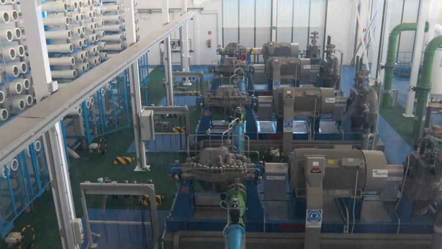 Abaqua prorroga el contrato de la desaladora de Santa Eulària hasta 2021