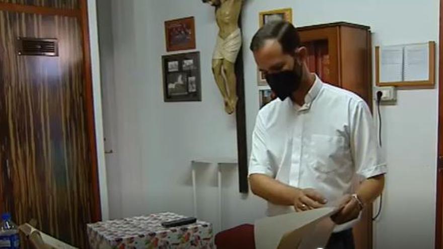 El párroco de Todoque evoca la icónica iglesia