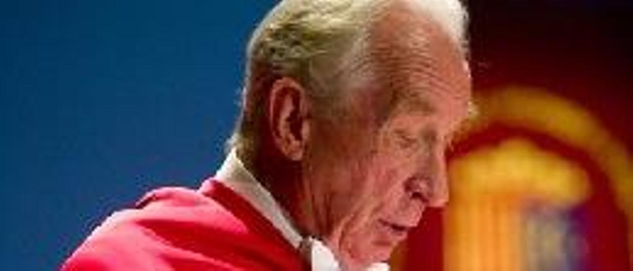 El doctor Bulygin fue investido por la UA como Honoris Causa