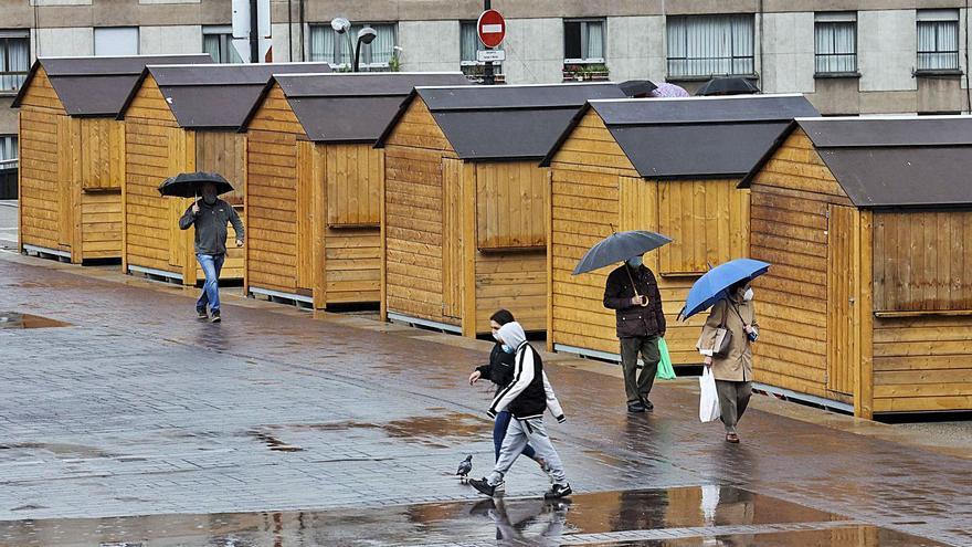 El Ayuntamiento ya empieza a instalar las casetas de la Ascensión