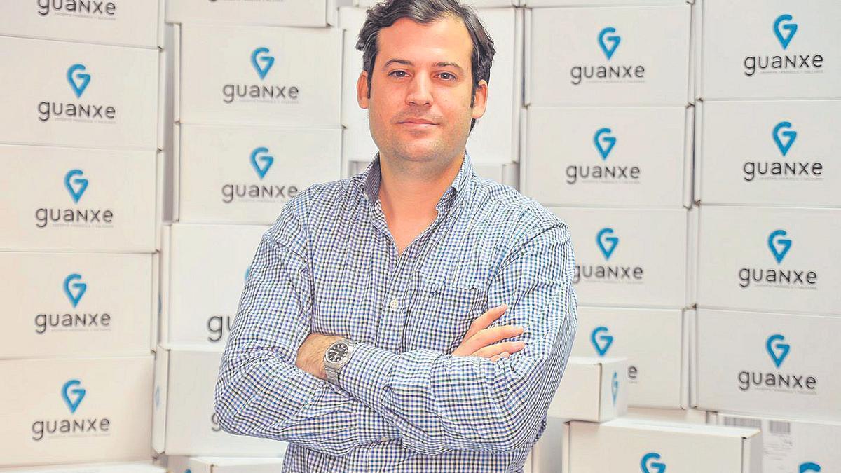 Luis Hernáiz Falcón, fundador de Canary Flash y C.E.O. de  'Guanxe.com'.