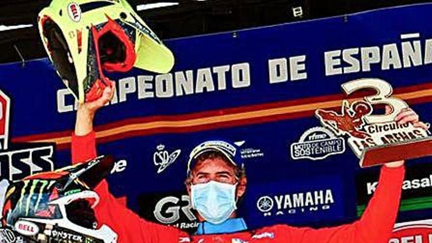 Ramon Brucart acaba tercer en l'estrena de l'estatal màster MX3