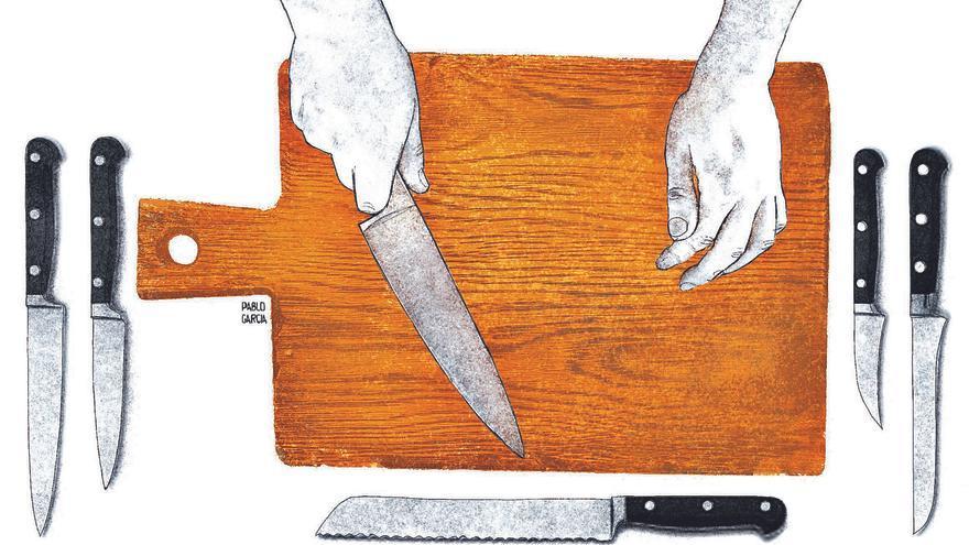 La cocina  y sus armas