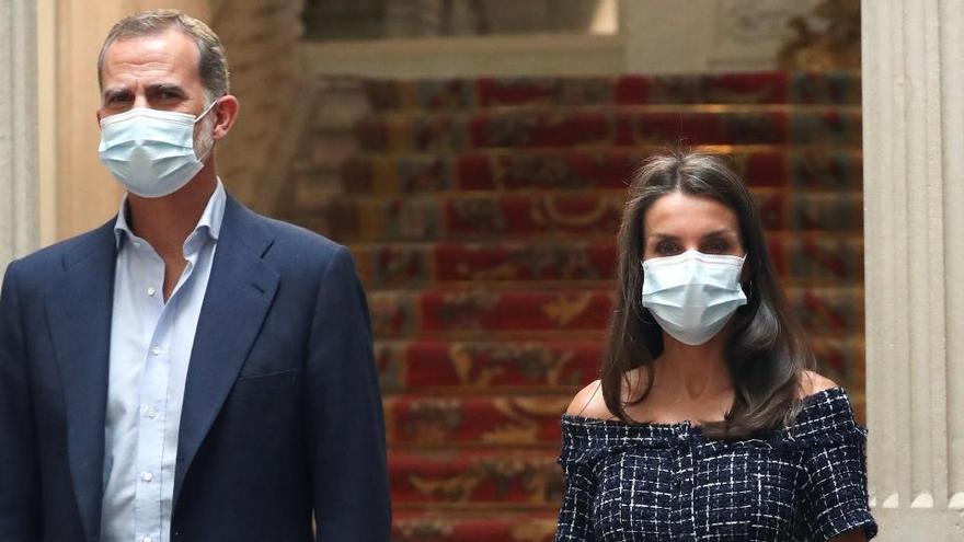 El rey ve a los cooperantes como una pieza decisiva para vencer la pandemia