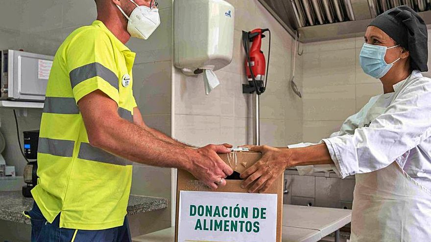 2.371 personas reciben ayuda cada día de la Fundación DinoSol para comer