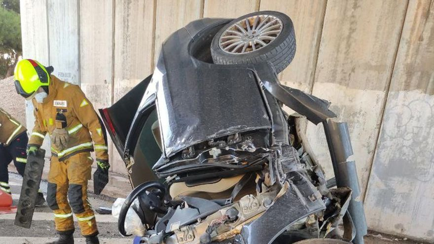 Un conductor muere en un accidente de tráfico en Pilar de la  Horadada