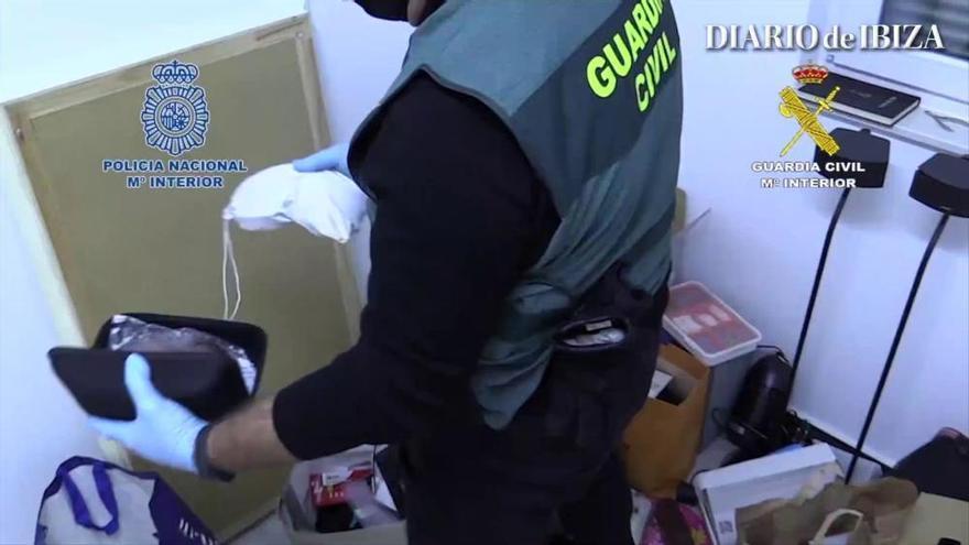 Desarticulada la principal red de tráfico de drogas sintéticas del país, que operaba en Ibiza