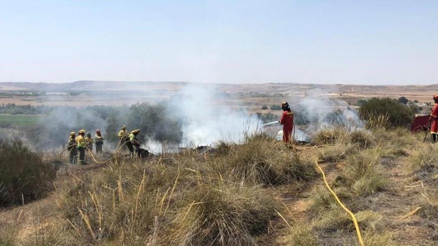 El incendio de Toledo capital, controlado después de quemar 1.600 hectáreas