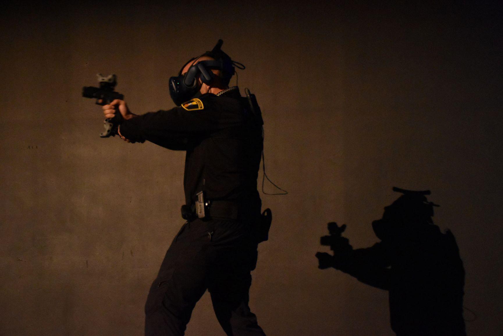 Esta herramienta de realidad virtual ayudará a la instrucción de plantillas policiales.