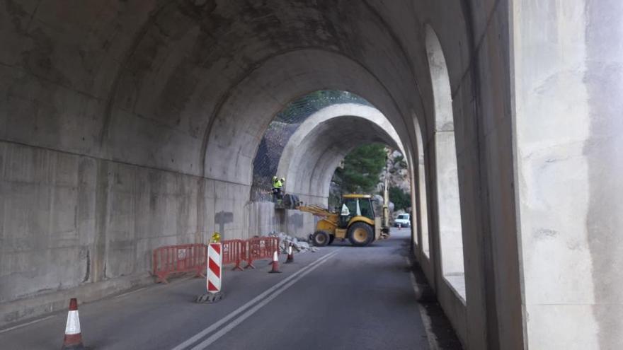 Straße zwischen Andratx und Estellencs wird wieder gesperrt