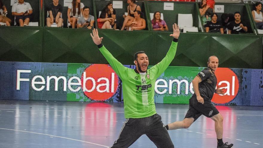 El Balonmano Zamora ficha al portero argentino Tomás Lautaro Mendieta