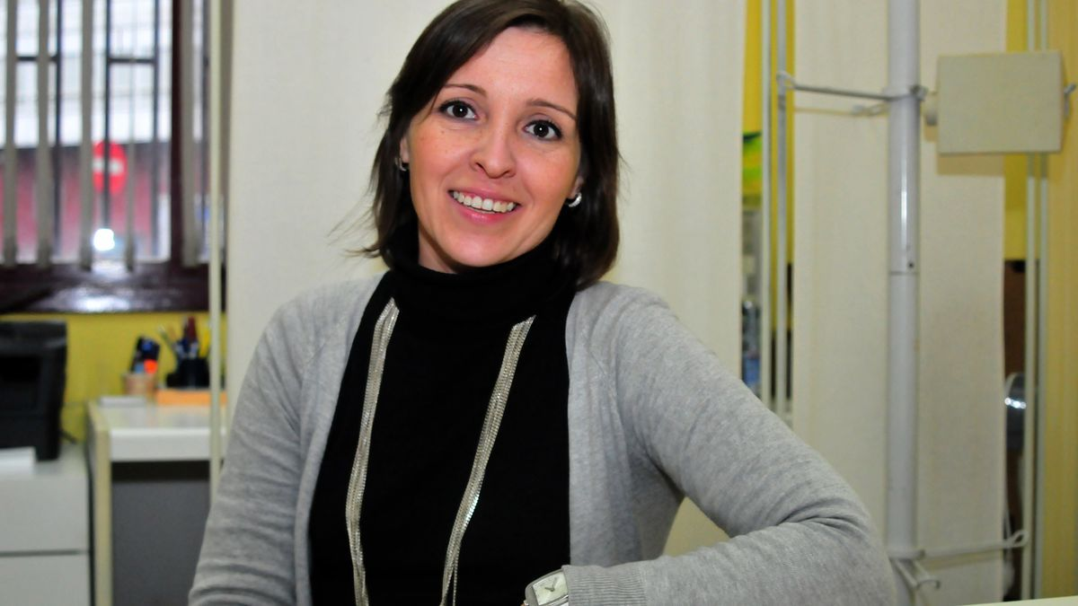La trabajadora social María Araújo.