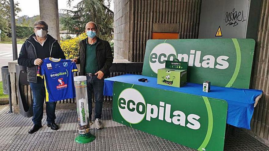 Ecopilas renueva su patrocinio con el Club Patín Areces de Grado
