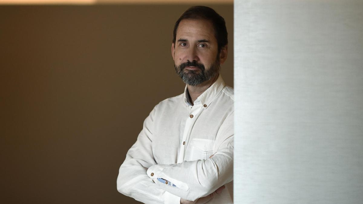 El escritor zaragozano Joaquín Berges.
