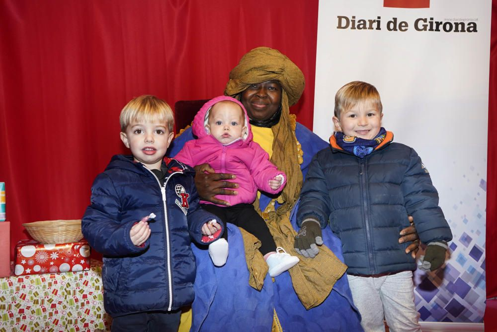 Els nens visiten el patge dels Reis Mags d'Orient - Fotos del 2 de gener de 2020