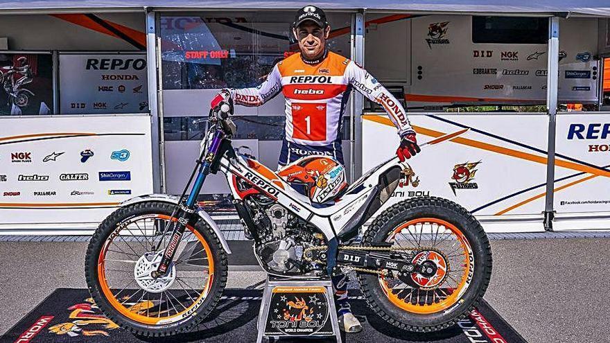 Toni Bou renova per tres anys més amb l'equip Repsol Honda