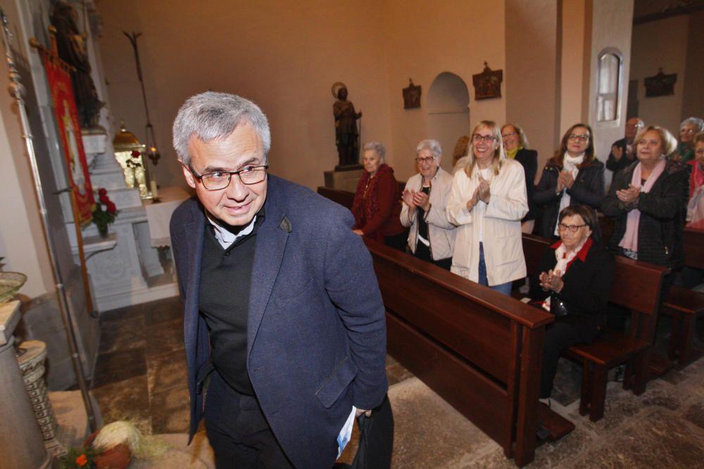 Joan Planellas, nou arquebisbe de Tarragona, oficialitza missa a Jafre