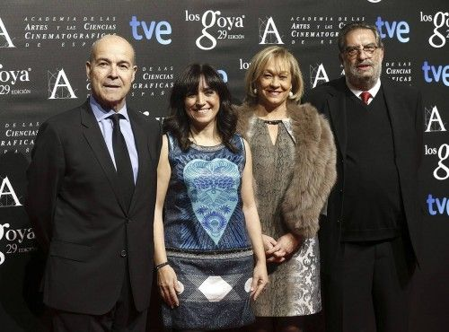 Fiesta de los nominados a los Goya