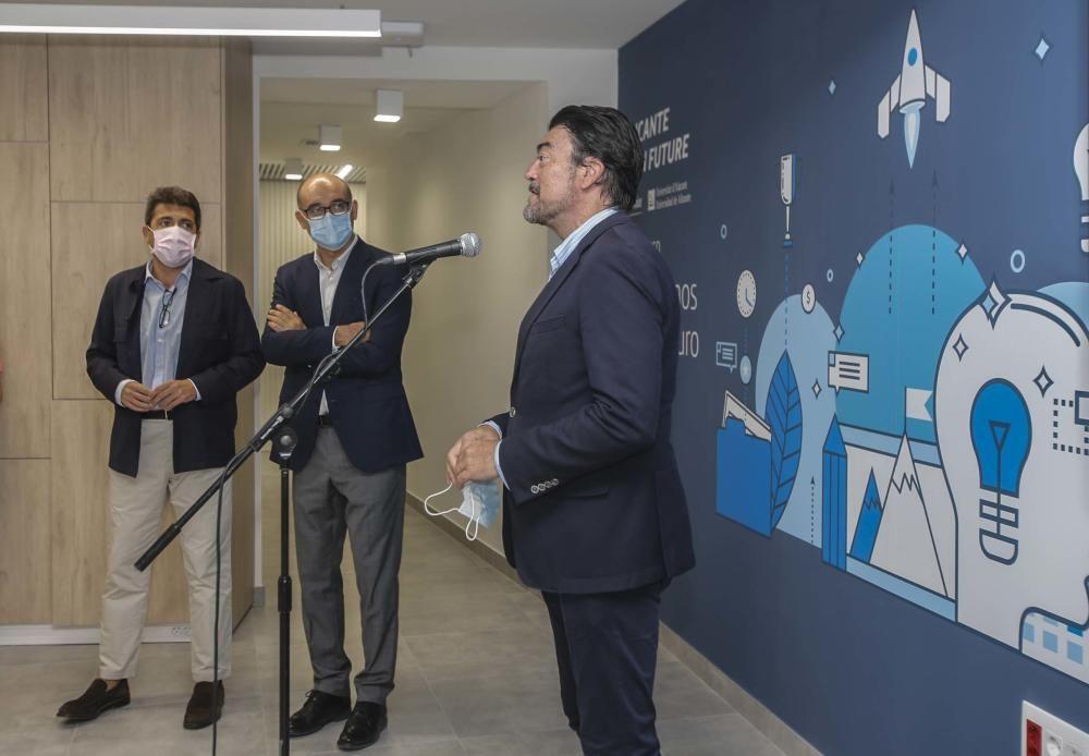Nueva incubadora de empresas de la Universidad de
