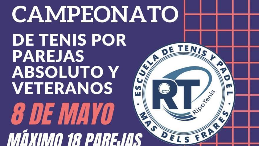 Campeonato de tenis por parejas absoluto y veteranos