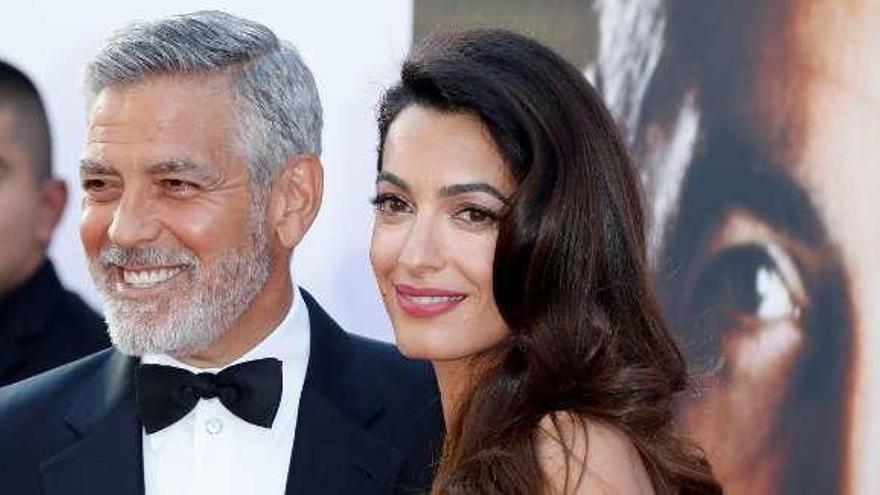 Clooney llora en el discurso de Amal  |