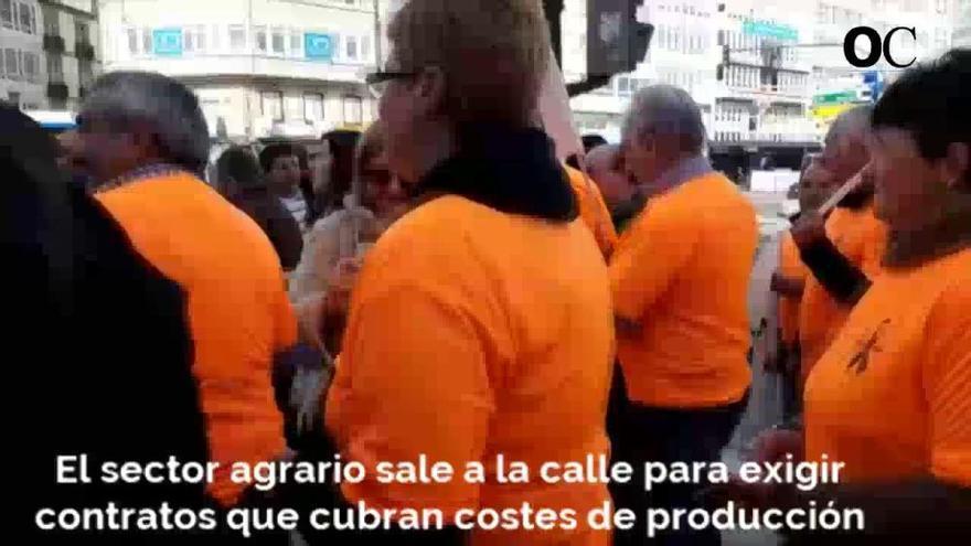 Más de 300 agricultores demandan en A Coruña que las ventas a pérdidas sean delito