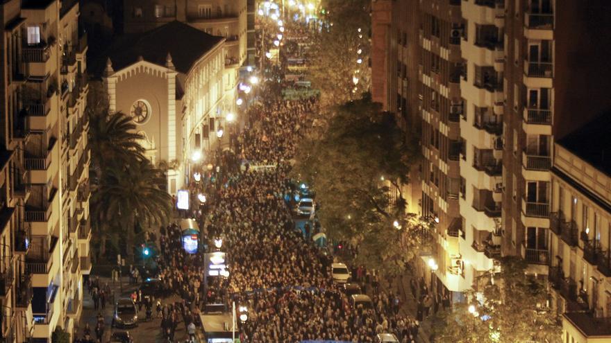 Una triple manifestación el 20 de noviembre reclamará una financiación justa
