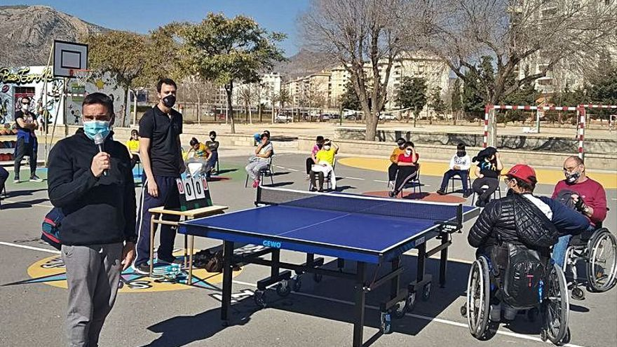 Deporte e inclusión en el Pintor Sorolla de Elda