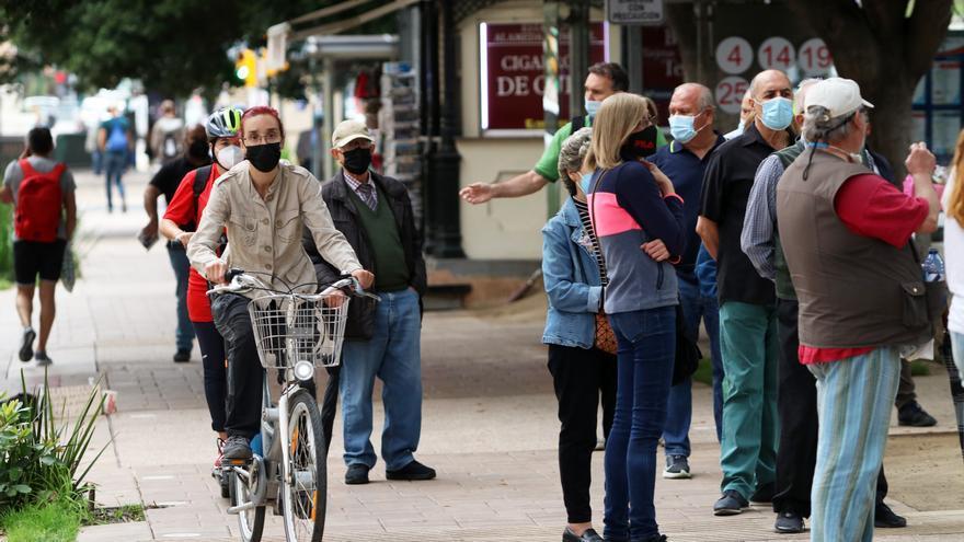 El lío monumental de los carriles bici provisionales