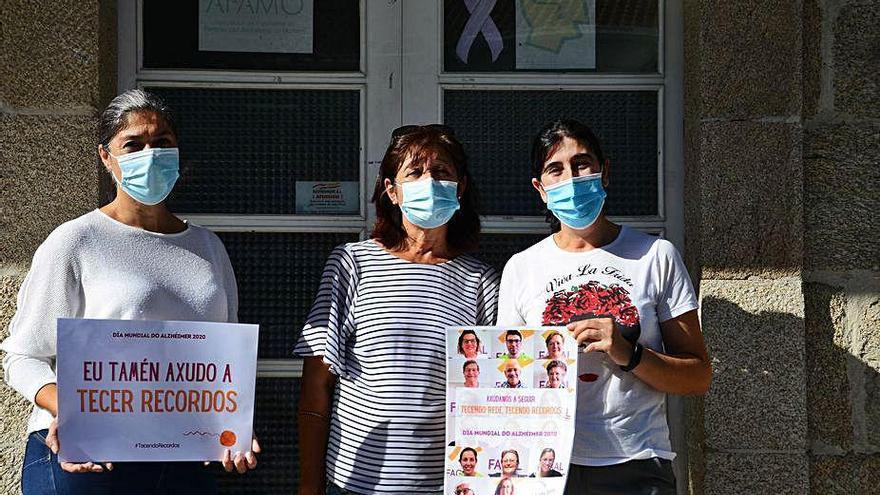 Afamo solicita, en el Día Mundial del Alzhéimer, un nuevo local para sus terapias en Cangas