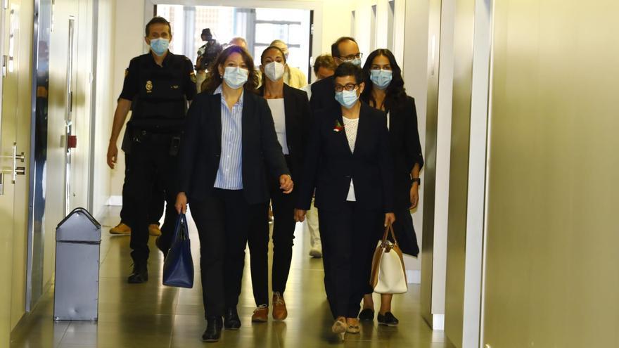 """La exministra González Laya declara que """"se cumplió la ley"""" en el caso Ghali"""
