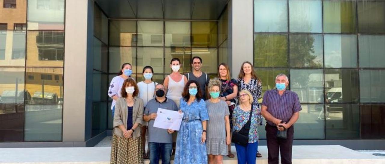 Alzira acogió el encuentro de los socios del programa. | LEVANTE-EMV