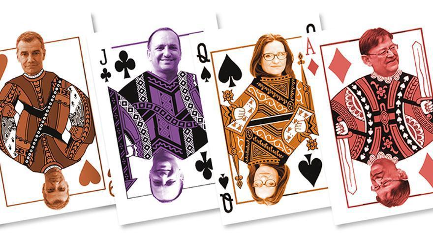El póker de los impuestos