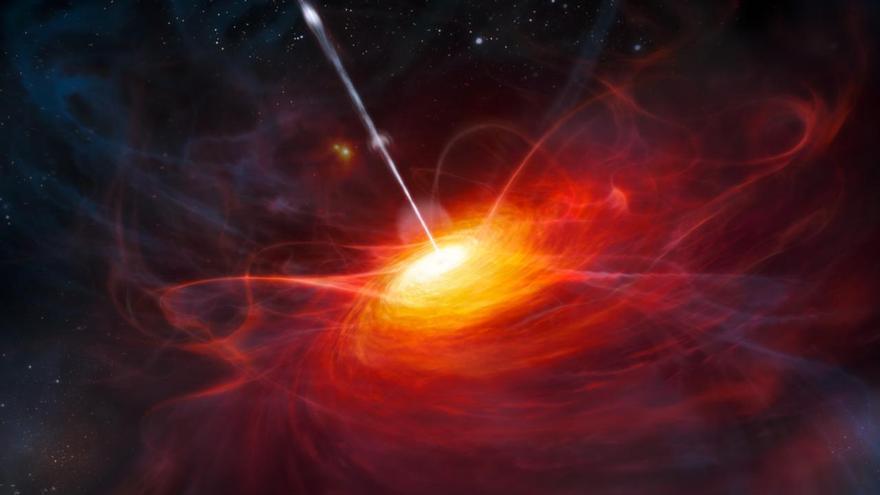Astrónomos españoles validan en cuásares un principio enunciado por Einstein