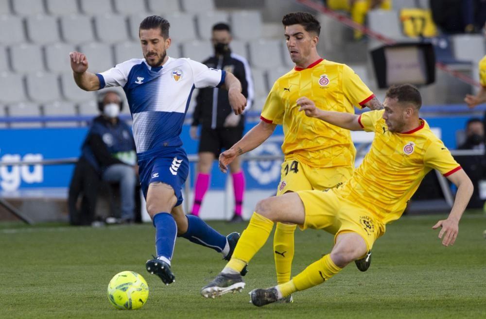 El Sabadell - Girona, en imatges