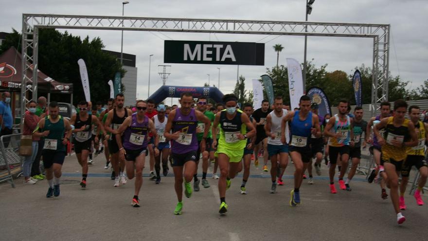 330 corredores en la 'Run for Parkinson´s' de Lorca