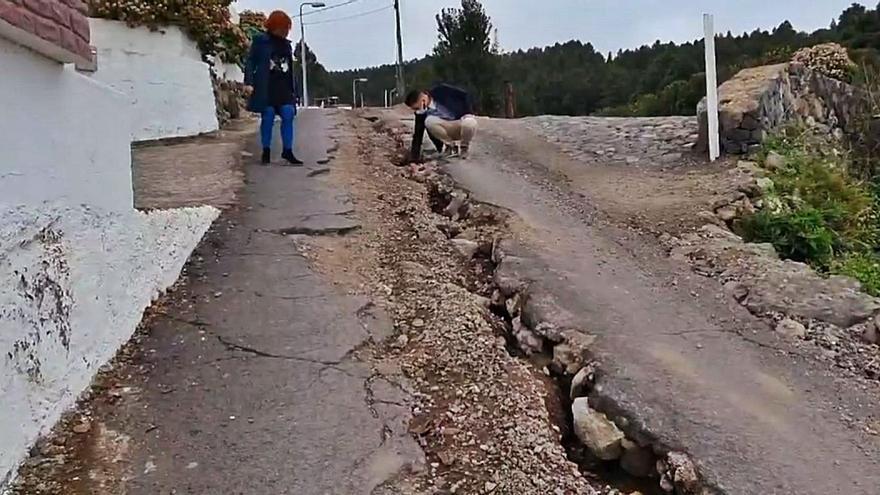 El camino que  parecía un barranco