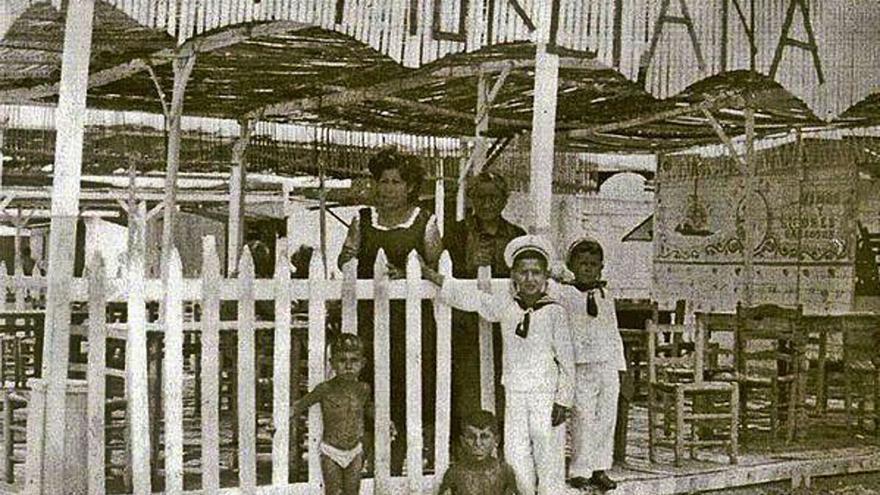 Chiringuitos y arena, patrimonio del Cabanyal