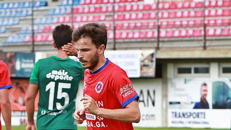 La UD Ourense finaliza sus renovaciones sin Rubén Durán