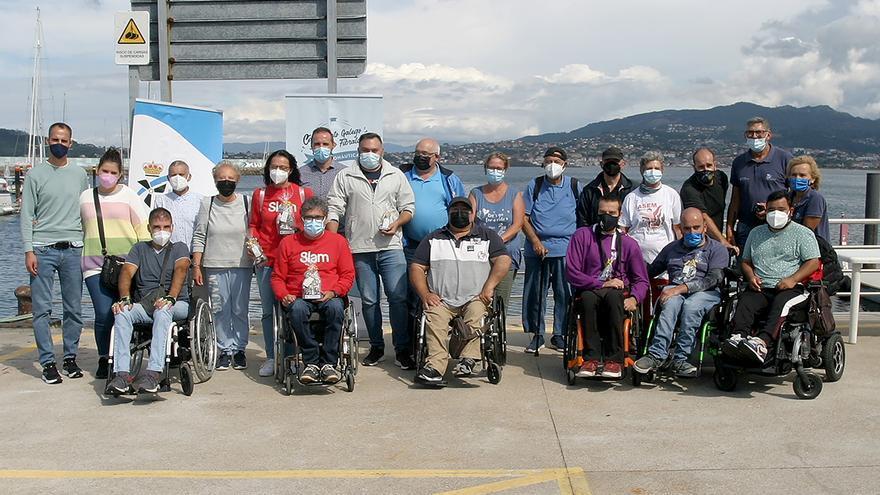 Barrio y Sarmiento no defraudan en Baiona y se llevan la novena prueba del Inclusivo Fibralar de Motonáutica