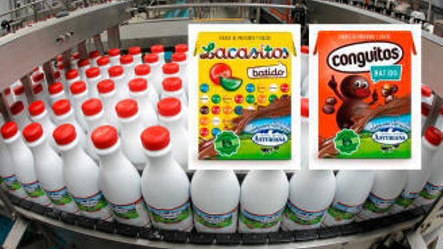 Central Lechera y Lacasa se unen para fabricar batidos sabor Lacasitos y Conguitos