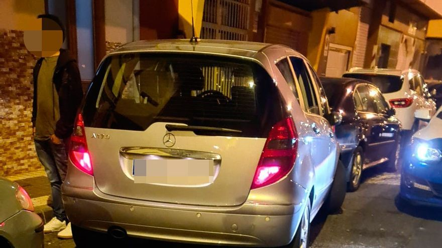Detenido en Molino de Viento al no poder aparcar por su estado de embriaguez