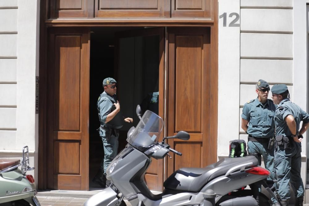 Eduardo Zaplana, detenido en València