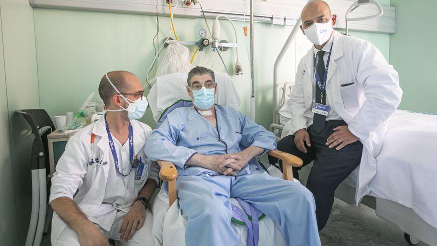 Primer trasplantat dels dos pulmons a Espanya per seqüeles de la Covid-19